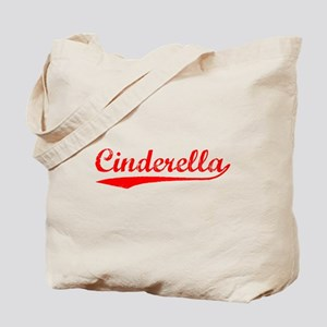 Vintage Cinderella (Red) Tote Bag