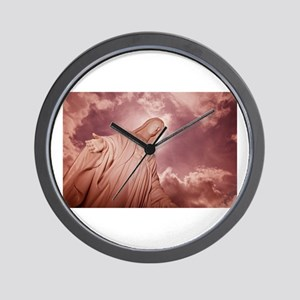 Blessed Mother Mourning #2 Wall Clock