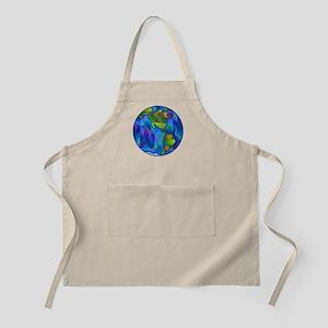 Planet Earth Art BBQ Apron