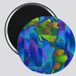 Planet Earth Art Magnet