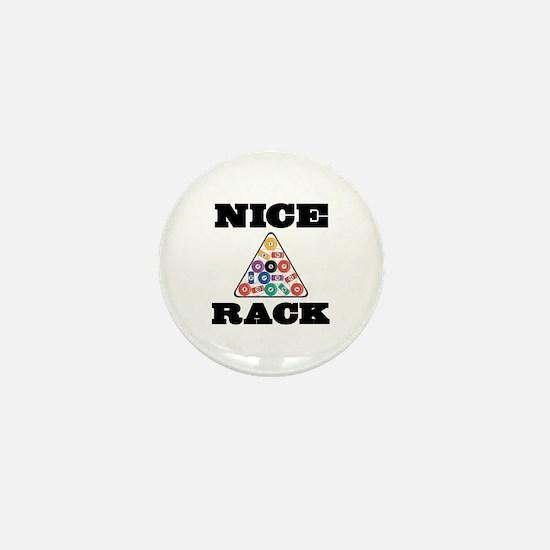 Pool Nice Rack Mini Button