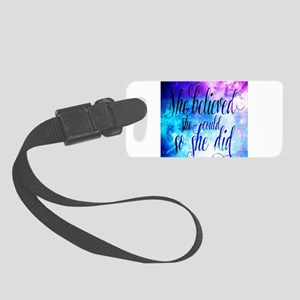 Small Luggage Tag