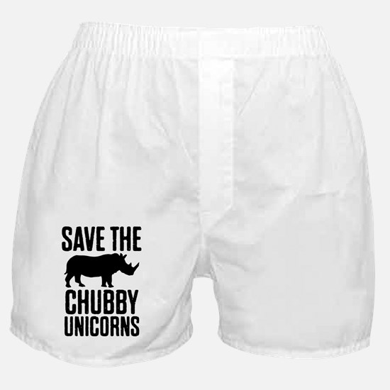 Cute Unicorn meat Boxer Shorts