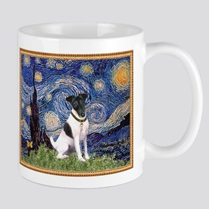Starry Night & Smooth Fox Terrier Mug