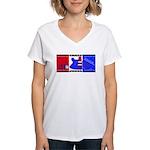 True Colours Women's V-Neck T-Shirt