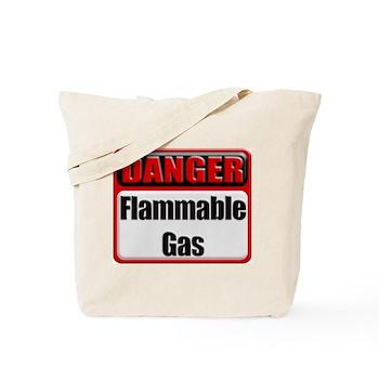 Danger: Flammable Gas Tote Bag