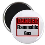 Danger: Flammable Gas Magnet