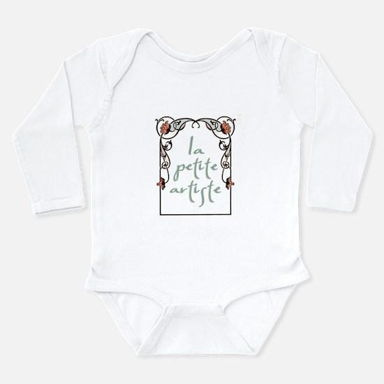 """""""La Petite Artiste"""" Infant Creeper Body Suit"""