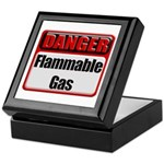 Danger: Flammable Gas Keepsake Box