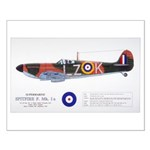 Supermarine Spitfire Aircraft Small Poster