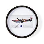 Supermarine Spitfire Aircraft Wall Clock