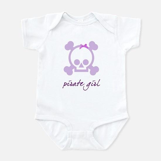 Pirate girl purple Infant Bodysuit