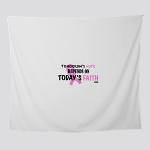Tomorrows Hope Breast Cancer Wall Tapestry