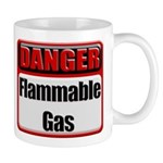 Danger: Flammable Gas Coffee Mug