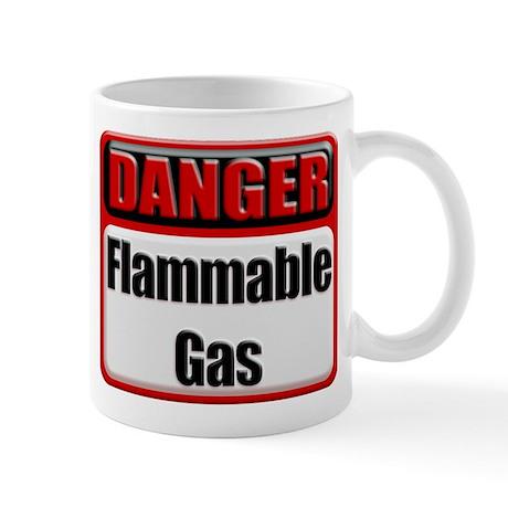 Danger: Flammable Gas Coffee Mug