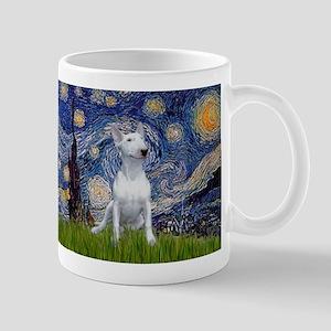 Starry Night/Bull Terrier Mug