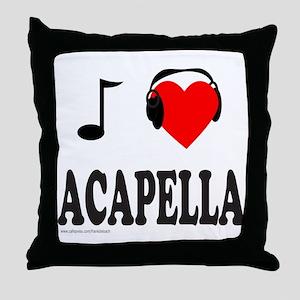 ACAPPELLA Throw Pillow