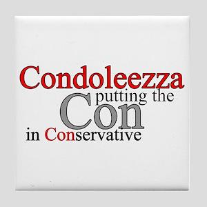 Condoleezza Rice Tile Coaster
