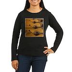 Acoustic Tone Women's Long Sleeve Dark T-Shirt