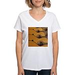 Acoustic Tone Women's V-Neck T-Shirt