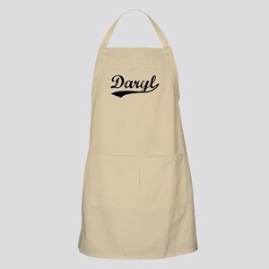 Vintage Daryl (Black) BBQ Apron