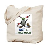 Danger Penguin Tote Bag