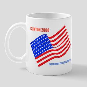 Clinton 2008 Mug