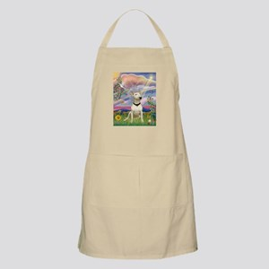 Cloud Angel/Bull Terrier BBQ Apron