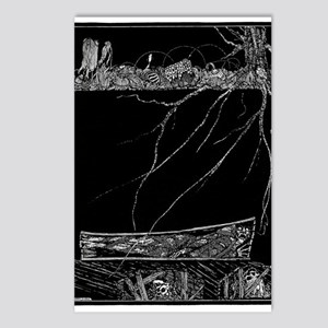 Premature Burial Postcards (Package of 8)