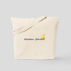 SKATER GIRLIE Tote Bag