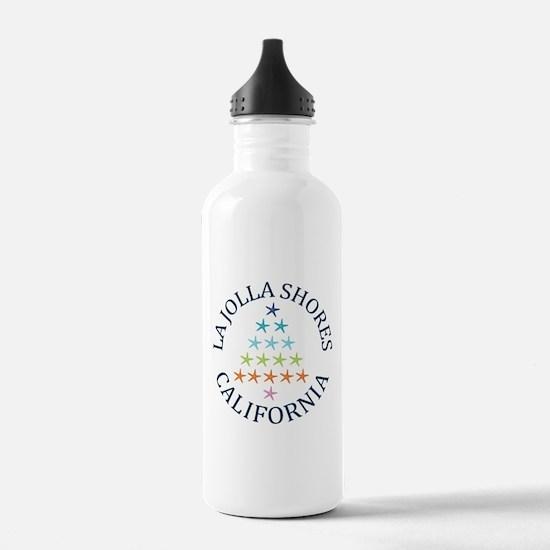 Summer la jolla shores Water Bottle