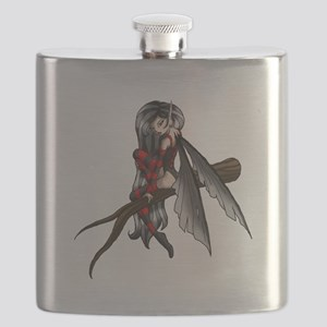 black stripe fairysmall Flask