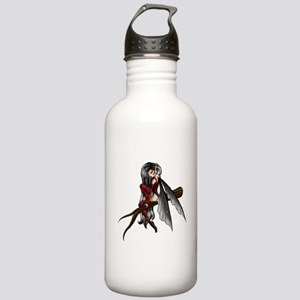 black stripe fairysmall Water Bottle