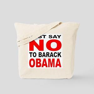 Anti-Barack Obama Tote Bag