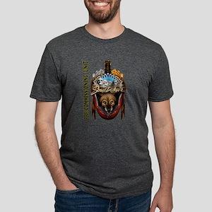 PCU South Dakota Mens Tri-blend T-Shirt