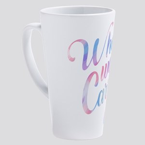 SATC: What Would Carrie Do? 17 oz Latte Mug