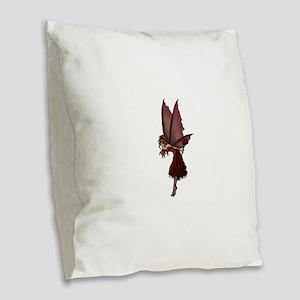 lovefairy Burlap Throw Pillow
