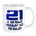 21st Birthday Mug