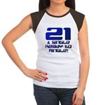 21st Birthday Women's Cap Sleeve T-Shirt