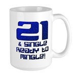 21st Birthday Large Mug