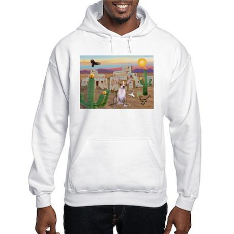 Cactus & Chihuahua Hooded Sweatshirt