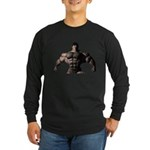 Blue Eyed Beast Long Sleeve Dark T-Shirt