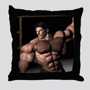 David Dark Desires Throw Pillow