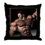 David Dark Desires Throw Pillow