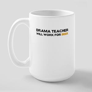 Drama Teacher Large Mug