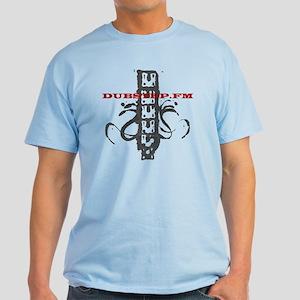 Dubstep.Fm Graffiti Light cotton blend T-Shirt
