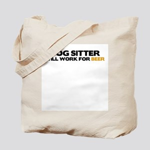 Dog Sitter Tote Bag