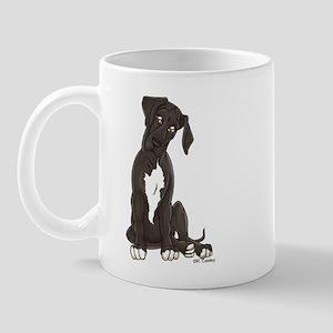 NBlkW Pup Tilt Mug