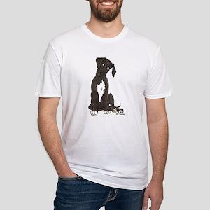 NBlkW Pup Tilt Fitted T-Shirt