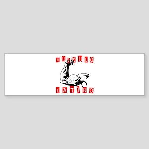 Musculo Latino Bumper Sticker